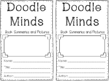 Doodle Minds - A Fun Summary and Picture Pack for ANY Novel!