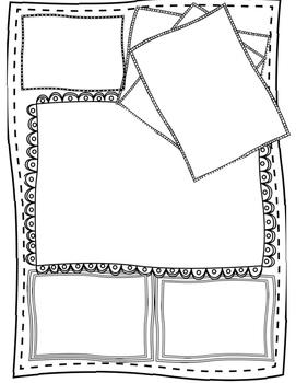 Doodle Note Templates Bundle