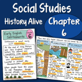 Doodle Notes - History Alive Chapter 6 - Early English Settlements
