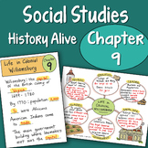 Doodle Notes - Chapter 9 - Life in Colonial Williamsburg
