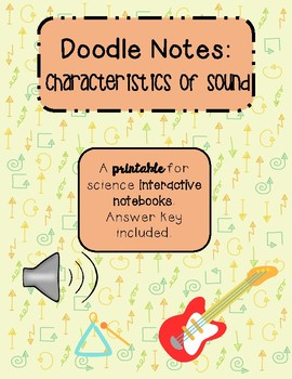 Doodle Notes: Characteristics of Sound