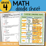 Math Doodle - Classifying 2-Dimensional Figures - So EASY