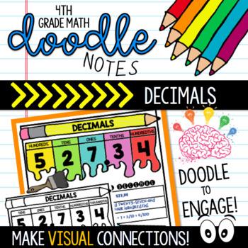 Doodle Notes - DECIMALS