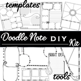 Doodle Notes DIY Template Kit