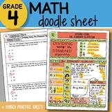 Math Doodle - Dividing Using the Standard Algorithm - So E