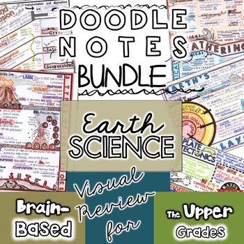 Doodle Notes Earth Science 5 Pack