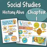Doodle Notes - History Alive Chapter 1 - Geography of the United States