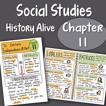 History Alive Chapter 1 Worksheets Teaching Resources TpT