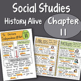 Doodle Fold History Alive Chapter 11 - To Declare Independ