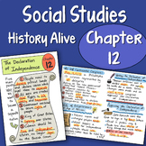 Doodle Fold History Alive - Chapter 12 - The Declaration o