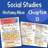 Doodle Notes History Alive - Chapter 13 - The American Revolution