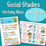 Doodle Notes History Alive Chapter 15 - The Bill Of Rights