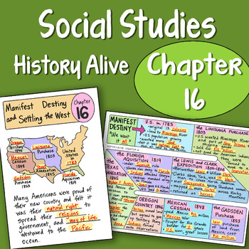 History Alive Chapter 16 Worksheets Teaching Resources TpT