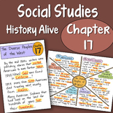 Doodle Notes History Alive Chapter 17 - The Diverse Peoples of the West