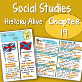 Social Studies Doodle - Chapter 19 - The Civil War - EASY to use Notes