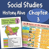 Doodle Fold - History Alive Chapter 3 - American Indians Cultural Regions