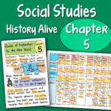Doodle Notes - History Alive Chapter 5 Routes of Exploration to the New World