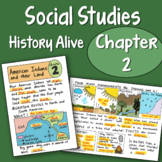 Doodle Notes - History alive Chapter 2 - American Indians and Their Lands