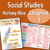 Doodle Fold - History alive Chapter 7 - Comparing the Colonies