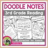Doodle Notes     Interactive Notebook     3rd Grade     Informational Text