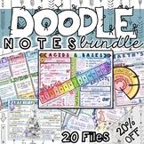 Doodle Notes Bundle A - 20 Doodles at 20% off!