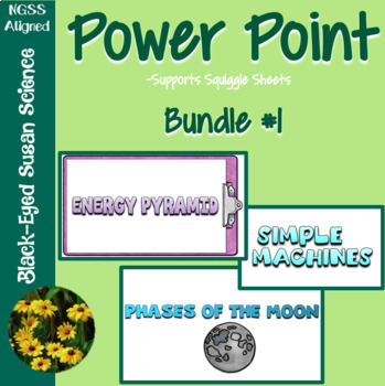 Growing Squiggle Sheets POWER POINT Bundle