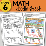 FREE! Doodle Sheet - Prime Factorization FREE! - So EASY t