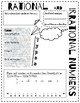 Doodle Notes - Rational & Irrational Numbers