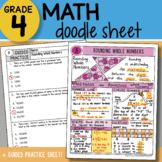 Math Doodle - Rounding Whole Numbers - So EASY to Use! PPT