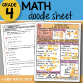 Math Doodle - Strategies for 2 Digit Multiplication - So EASY to Use!