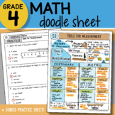 Doodle Notes - Tools for Measurement - So EASY to Use! PPT Included