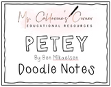 Doodle Notes for Petey by Ben Mikaelsen