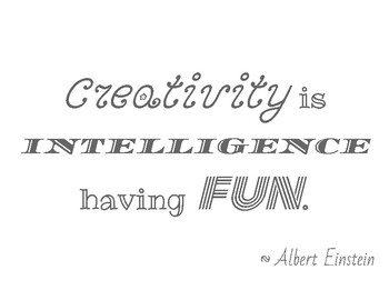 Doodle Page: Creativity is Intelligence Having Fun!