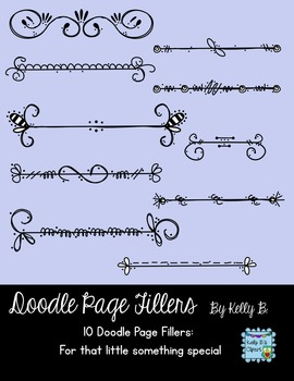 Doodle Page FillersBy Kelly B