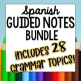 Doodle Pages Worksheets and notes Bundle