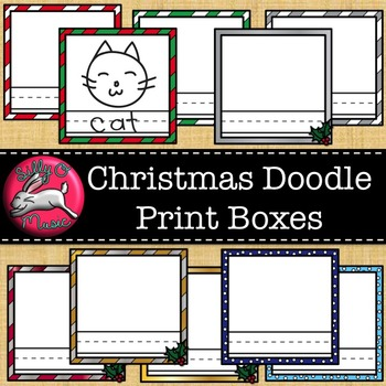 Christmas Print & Draw Boxes