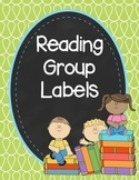 Doodle Reading Group Labels