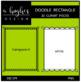 Rectangle Doodle Scallop Frames {A Hughes Design}