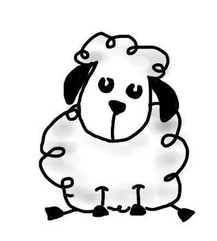 Doodle Sheep! Sheep Clip Art - Lambs