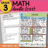 Doodle Sheet - Strategies - So EASY to USE! PPT Included