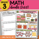 Doodle Sheet - Strategies with Equations - EASY to Use Notes - with PPT!