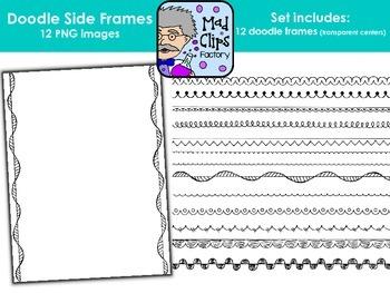 Doodle Sides {Side-Only Frames}
