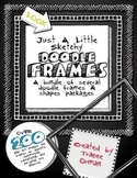 Doodle Sketches Bundle of Clip Art Graphics for Commercial Use