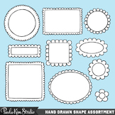 Scallop Edge Frame Clipart