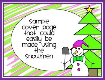 Doodle Snowman Clip Art