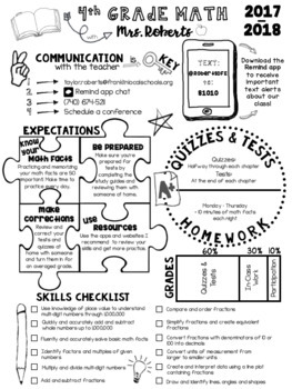 Doodle Syllabus Template 100 Editable With Infographics