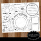 Doodle Thanksgiving Digital Coloring Page - Place mat
