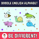 Doodle Time! - The English Animal Alphabet Clipart