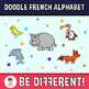 Doodle Time! - The French Animal Alphabet Clipart