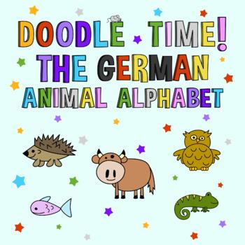 Doodle Time! - The German Animal Alphabet Clipart